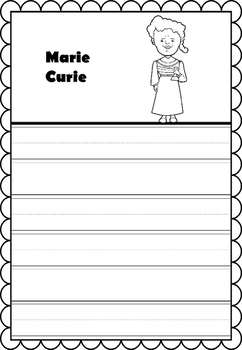 Graphic Organizer : Marie Curie