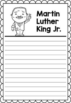 Graphic Organizer : Martin Luther King Jr., MLK, Black History