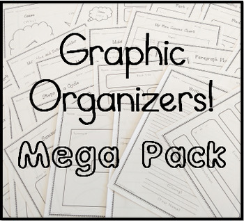 Graphic Organizer Mega Pack