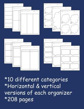 Graphic Organizer Mega Pack
