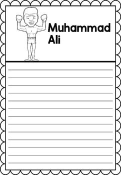 Graphic Organizer : Muhammad Ali