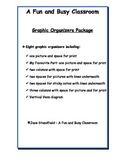 Graphic Organizer Multi Grade Resource Pack