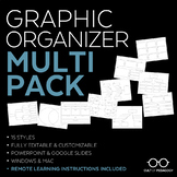Graphic Organizer Multi-Pack