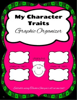 Character Traits: Graphic Organizer