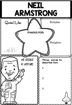 Graphic Organizer : Neil Armstrong