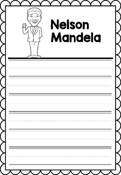 Graphic Organizer : Nelson Mandela