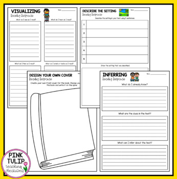 Graphic Organizer Package for Reading Strategies