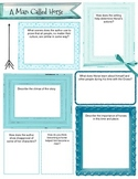 Graphic Organizer Packet for Four Short Stories (9th grade) 3