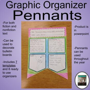 Graphic Organizer Pennants