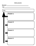 Graphic Organizer: Persuasion