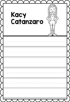 Graphic Organizer : Pro Athletes: Kacy Catanzaro
