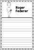 Graphic Organizer : Pro Athletes: Roger Federer
