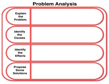 Graphic Organizer: Problem Analysis