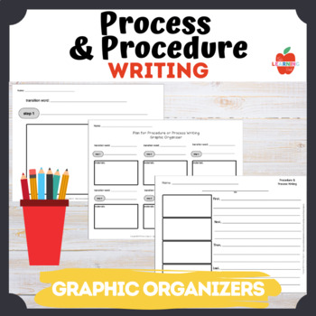 Graphic Organizer Process and Procedure Writing : transition words
