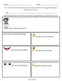 Graphic Organizer RL1.4 Fellings & Senses