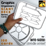 Graphic Organizer Review Cards: Huge Deck of Bite-Sized Do