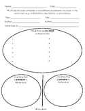 Graphic Organizer Ri1.9 Similarities & Differences