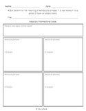 Graphic Organizer Ri2.4 Words or Phrases