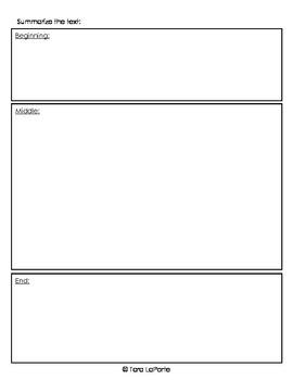 Graphic Organizer Ri5.2 Main Idea & Summary