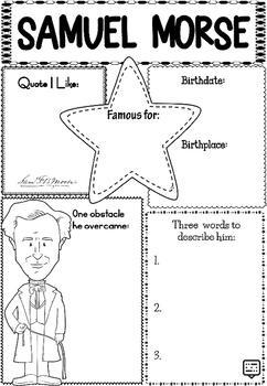 Graphic Organizer : Samuel Morse