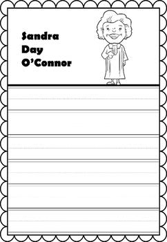 Graphic Organizer : Sandra Day O'Connor