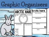 Graphic Organizer Bundle : Arctic Hares  - Polar and Arctic Animals