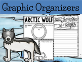 Graphic Organizer Bundle : Arctic wolf  - Polar and Arctic Animals