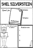 Graphic Organizer : Shel Silverstein  : Awesome Authors