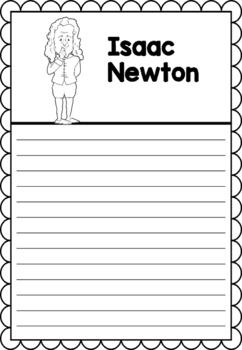 Graphic Organizer : Sir Isaac Newton