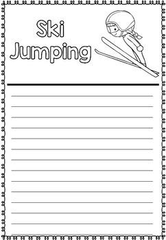 Graphic Organizer: Ski Jumping : Winter Olympics 2018, Winter Sports