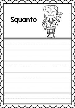 Graphic Organizer : Squanto