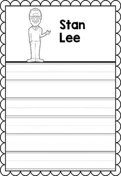 Graphic Organizer : Stan Lee