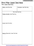 Graphic Organizer: Story Map (Version 2) DIGITALLY EDITABLE
