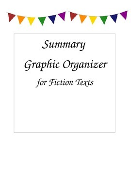Graphic Organizer: Summary