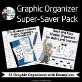 Graphic Organizer Super-Saver Pack