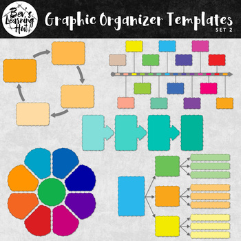 Graphic Organizer Templates for All Subject Areas Set 2