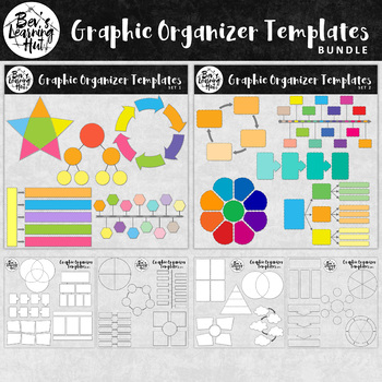 Graphic Organizer Templates Bundle for All Subject Areas