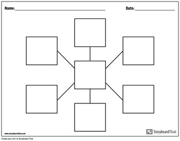 Graphic Organizer Templates - Spider Charts