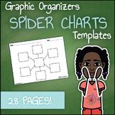 Graphic Organizer Templates - Spider Charts