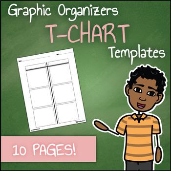 Graphic Organizer Templates - T-Charts