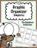 Graphic Organizer Templates The Capybara Collection