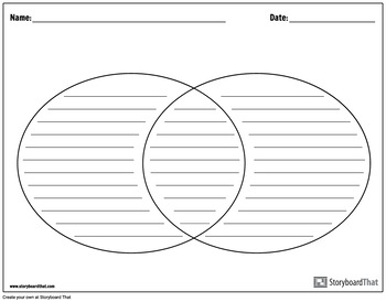 Graphic Organizer Templates - Venn Diagram