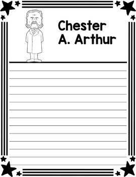 Graphic Organizer : US Presidents - Chester A. Arthur, American President 21