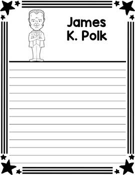 Graphic Organizer : US Presidents - James K. Polk, American President 11