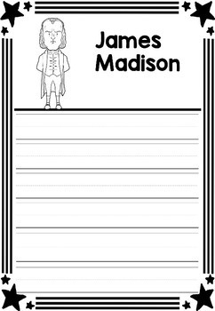 Graphic Organizer : US Presidents - James Madison, American President 4