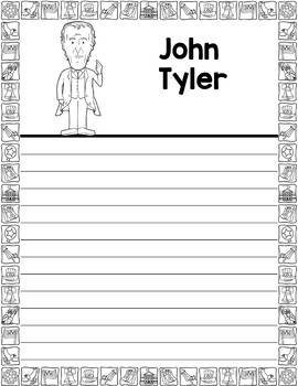 Graphic Organizer : US Presidents - John Tyler, American President 10