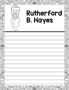 Graphic Organizer : US Presidents - Rutherford B. Hayes American President 19