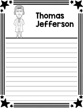 Graphic Organizer : US Presidents - Thomas Jefferson, American President