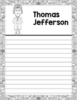 Graphic Organizer : US Presidents - Thomas Jefferson, American President 3
