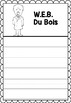 Graphic Organizer : W.E.B. Du Bois - Inspiring African American Figures